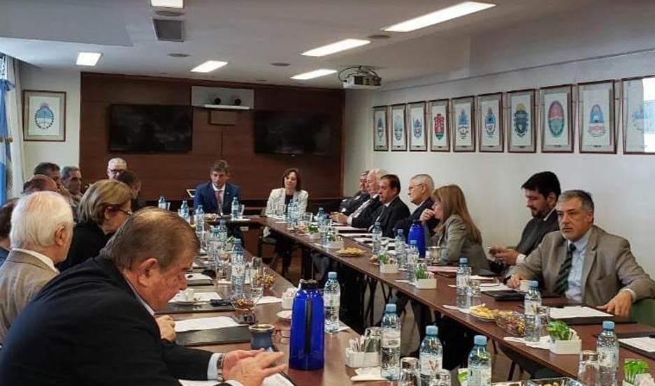 El encuentro se desarrolló en la Ciudad Autónoma de Buenos Aires.